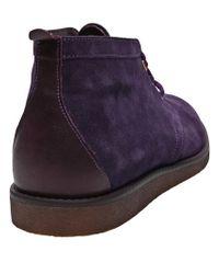 Wesc Purple Lawrence Chukka Desert Boot for men