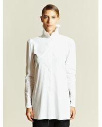Damir Doma White Damir Doma Womens Synodus Shirt