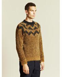 Dries Van Noten Black Dries Van Noten Mens Maud Sweater for men