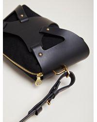 Fleet Ilya Black Fleet Ilya Womens Triangle Piece Bag