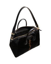 Givenchy Black Ponyhair Large Antigona Duffel