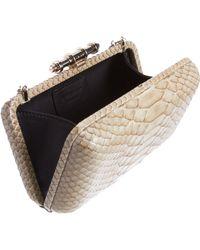 Givenchy Natural Python Obsedia Minaudière