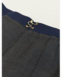 Kolor Gray Kolor Womens Check Pants