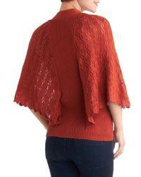 ModCloth - Orange Take A Migration Cardigan - Lyst