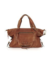 Abaco Brown Odelia Java Large Leather Tote
