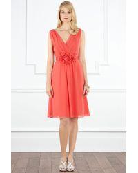 Coast Orange Dillys Short Dress