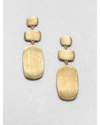 Marco Bicego | Metallic Murano 18k Yellow Gold Drop Earrings | Lyst