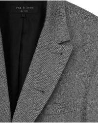 Rag & Bone - Gray Parker Blazer for Men - Lyst