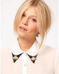 ASOS | Metallic Bee Collar Brooches | Lyst