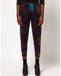 Paul by Paul Smith | Black Starry Night Track Pants | Lyst