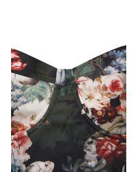 TOPSHOP Multicolor Multi Floral Print Corset