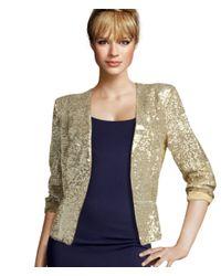 H&M | Metallic Jacket | Lyst