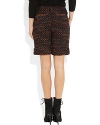 Mulberry | Multicolor Bouclétweed Shorts | Lyst