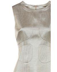 Karen Millen 60s Metallic Shift Dress