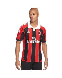 Adidas | Red Climacool Ac Milan Home Jersey for Men | Lyst