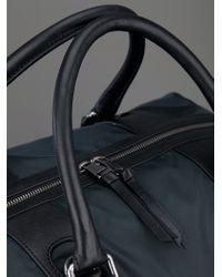 Dolce & Gabbana Gray Pocketed Travel Bag for men
