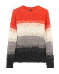 JOSEPH - Multicolor Colorblock Sweater - Lyst