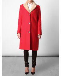 Acne Studios Red Cassidy Coat