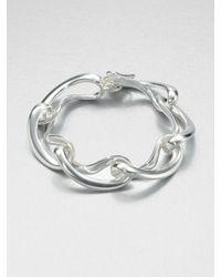 Georg Jensen | Metallic Sterling Silver Link Bracelet | Lyst