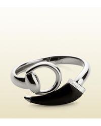 Gucci Metallic Horsebit Bracelet