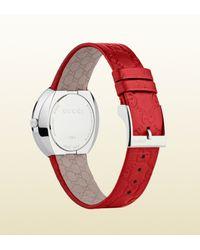 Gucci - Red Uplay Medium Version Watch - Lyst