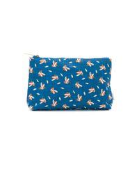 Ollie & Nic | Blue Hilda Duck Washbag | Lyst