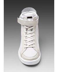 Adidas SLVR | Gray Slvr Cupsole Hi Sneaker in Light Greywhitesilver for Men | Lyst