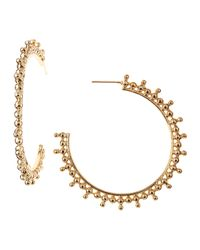 Kendra Scott | Metallic Talise Hoop Earrings | Lyst