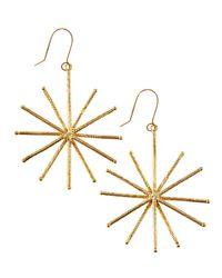Lana Jewelry - Metallic Small Flash Earrings - Lyst