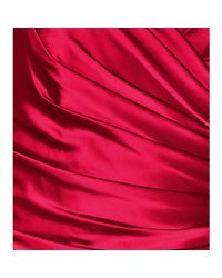 Notte by Marchesa | Red Strapless Evening Gown | Lyst