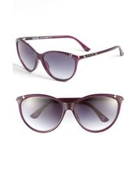 MICHAEL Michael Kors | Purple Camila Sunglasses | Lyst
