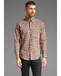Naked & Famous | Multicolor Regular Shirt in Floral Print for Men | Lyst