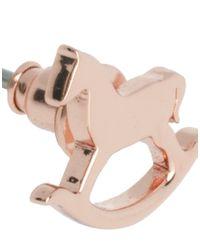 Ted Baker - Pink Ted Baker Rocking Horse Earrings - Lyst