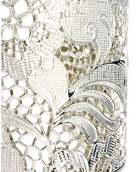 Ted Baker Metallic Lace Cuff