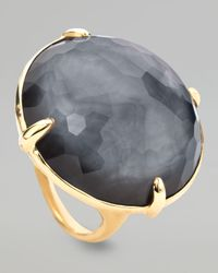 Ippolita | Metallic Round Hematite Gelato Ring | Lyst