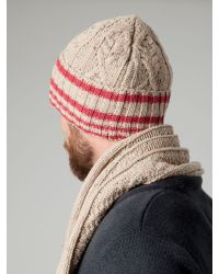 Tommy Hilfiger | Red Iceland Beanie for Men | Lyst