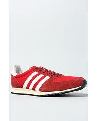 big sale 4506c a07c5 Mens The Adistar Racer Sneaker in University Red ...