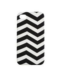 J.Crew | White Printed Iphone 4 Case | Lyst