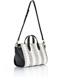 Alexander Wang - Metallic Pelican Satchel in Ion Laminated Snake with Gold - Lyst