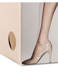 H&M Natural 4pack 20d Tights