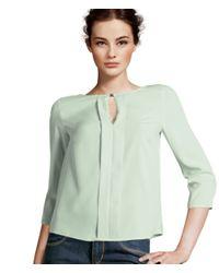 H&M Green Blouse
