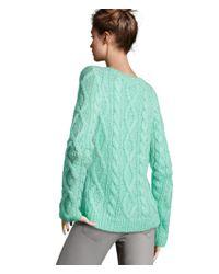 H&M Green Jumper