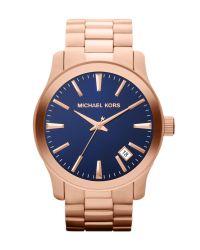 Michael Kors   Gold Mens Classic Watch for Men   Lyst
