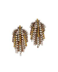 DANNIJO - Metallic Cecile Earrings - Lyst