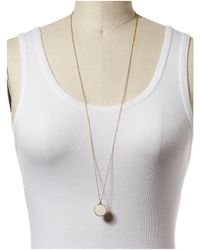 Kate Spade | Natural Window Seat Bouquet Mini Pendant Necklace - Cream Multi | Lyst