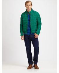 Vince | Green Nylon Puffer Jacket for Men | Lyst