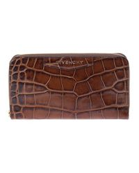 Givenchy | Brown Scaled Wallet | Lyst