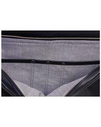 Jack Spade Black Mill Leather Correspondence Bag for men