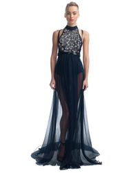 Jason Wu | Black Ss Beaded Halter Gown | Lyst
