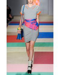 Marc Jacobs | Orange Geena Knit Dress | Lyst